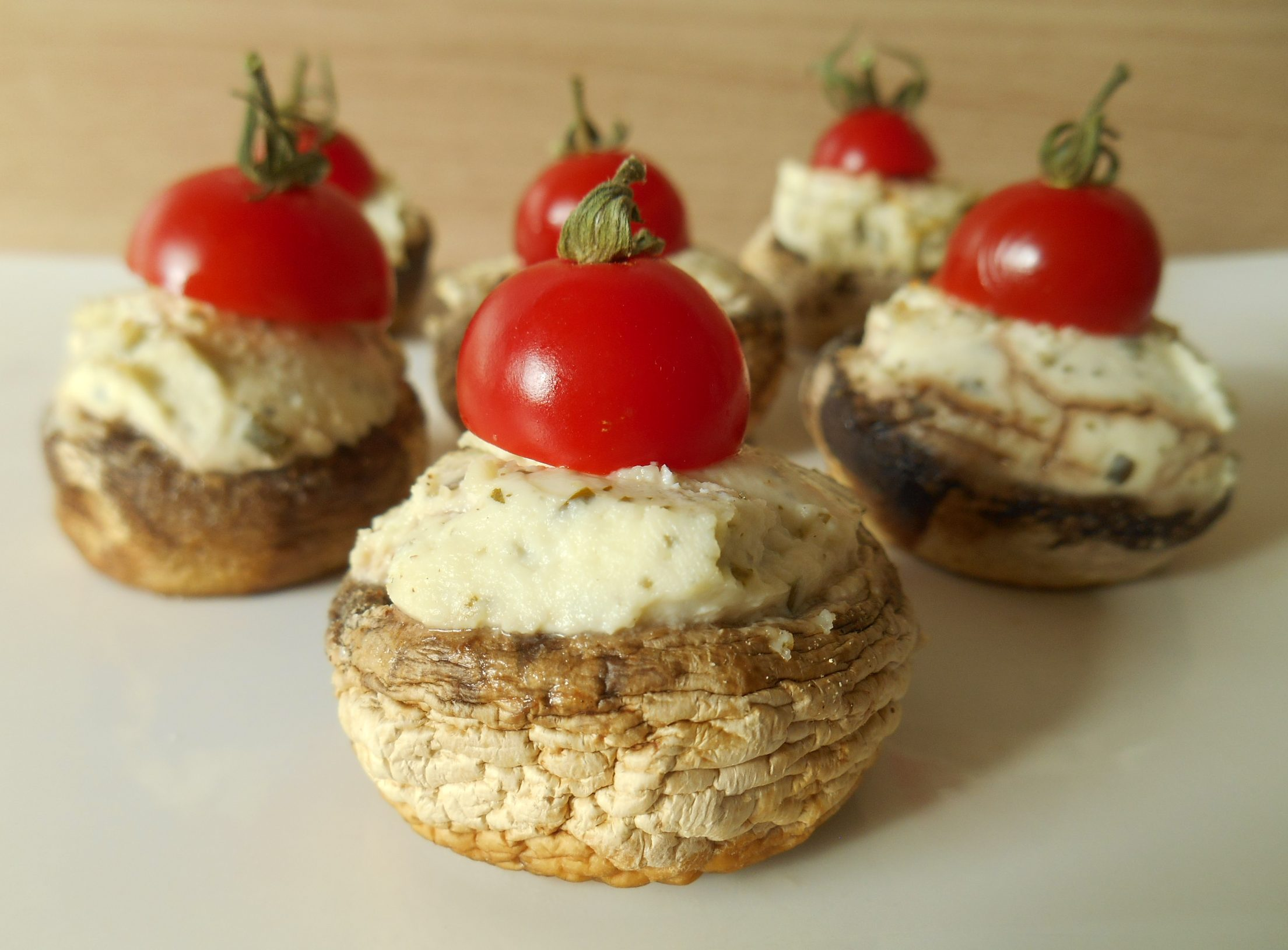 Extrem Champignons farcis au fromage ail & fines herbes QX87