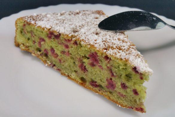 Moelleux pistache & framboise (2)