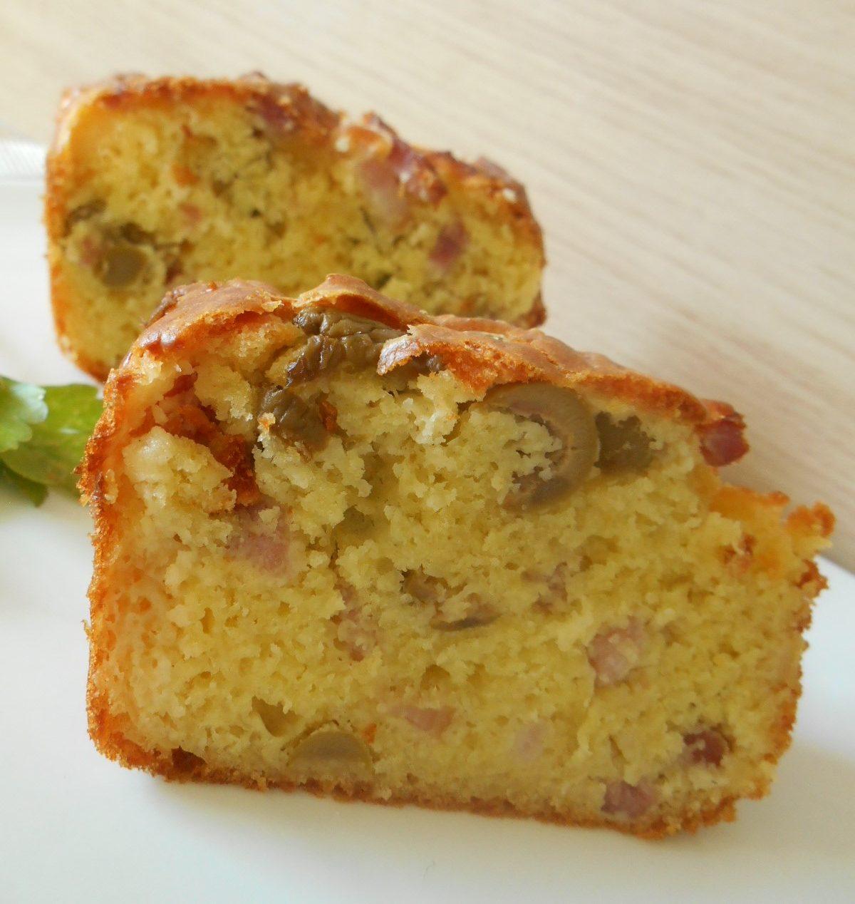 Recette Cake Aux Lardons Et Olives